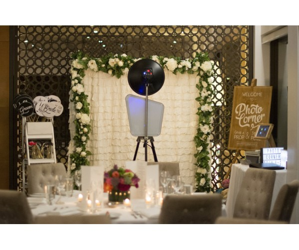 Photo Booth Live Station (Wedding)